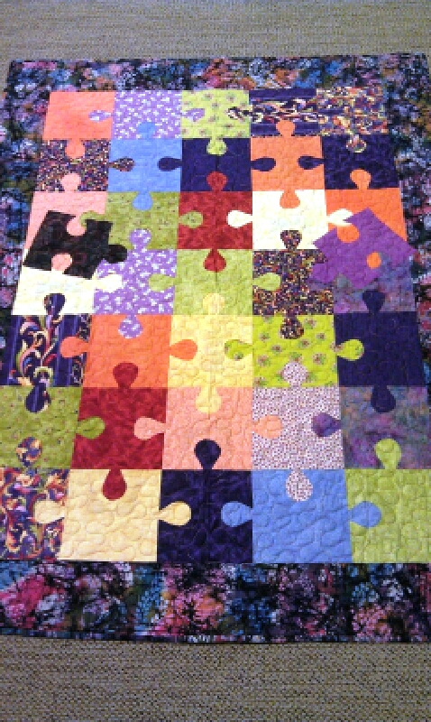 puzzle and all you need are 10 fat quarters